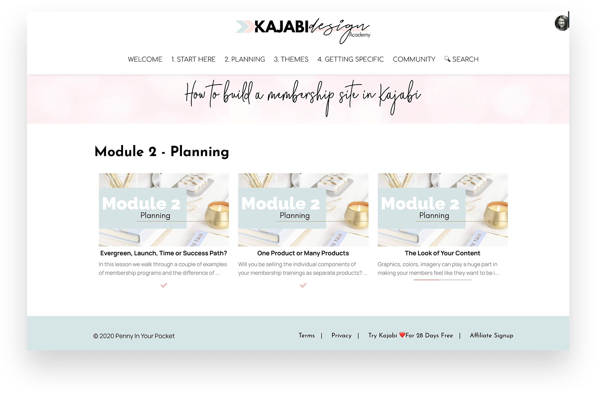 Mockup of How To Build A Membership Site in Kajabi