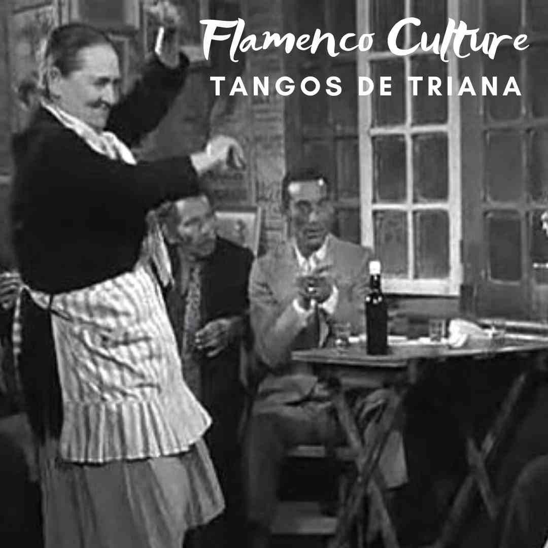 Flamenco culture Tangos de Triana