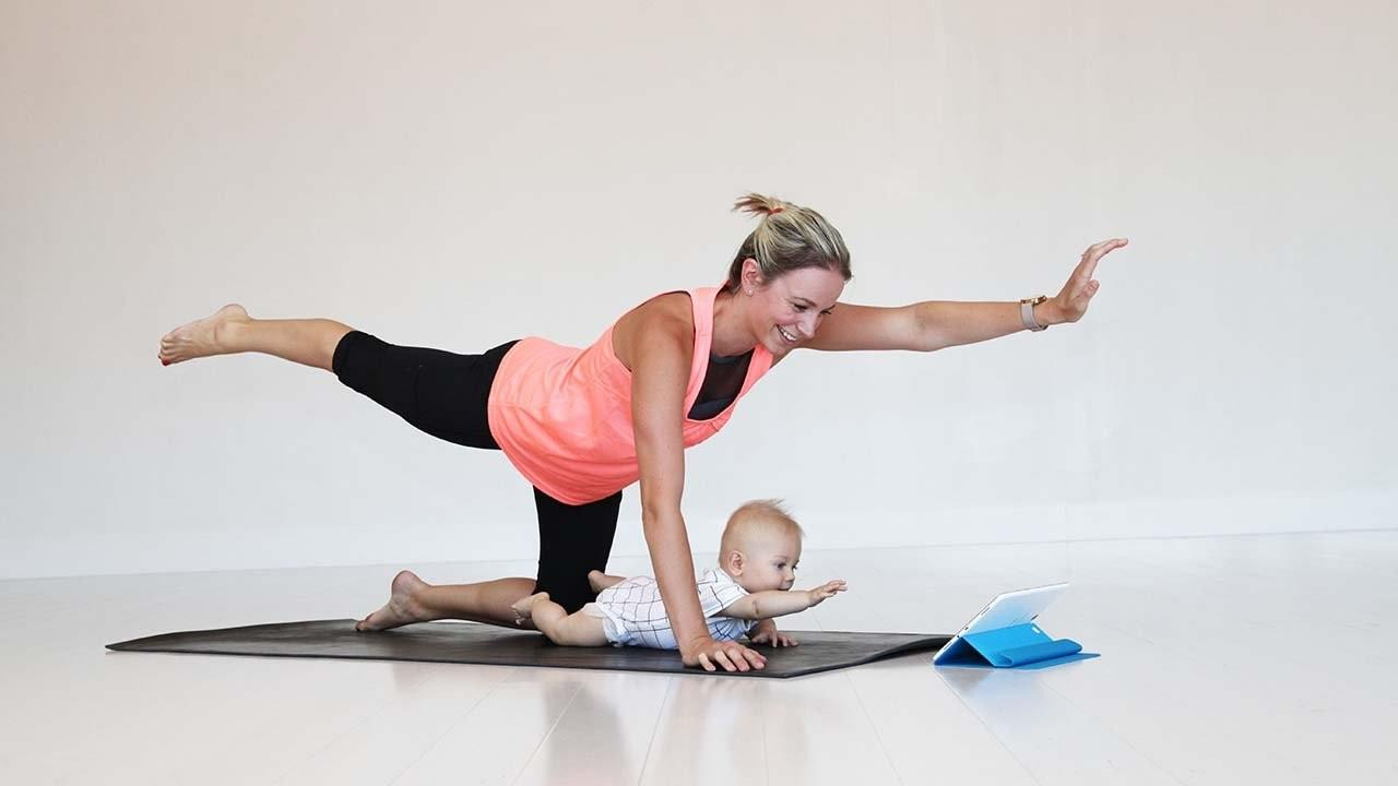 Get AT Home, Safe Workouts for Moms