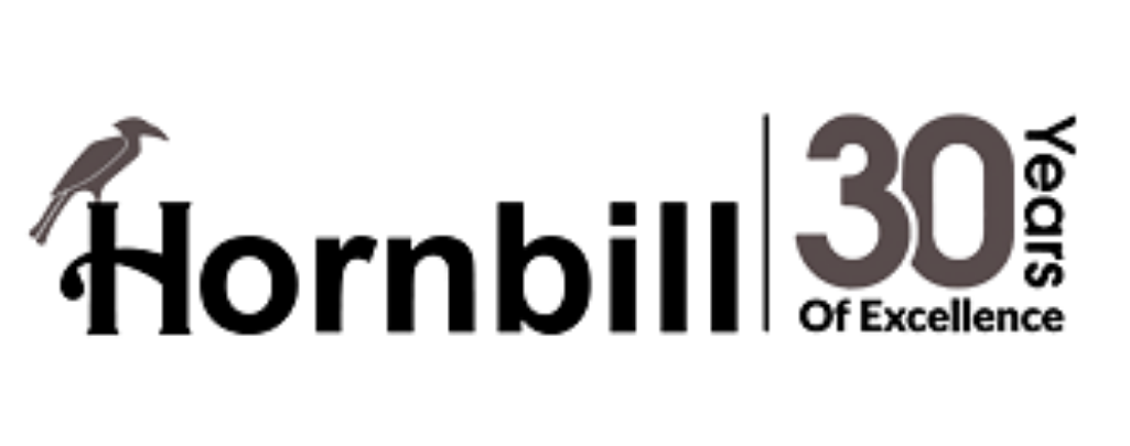 Hornbill logo in black and grey links to Hornbill website