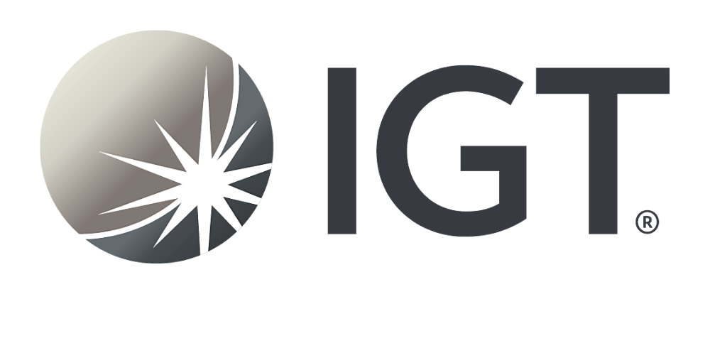 IGT Logo in black and grey links to IGT website