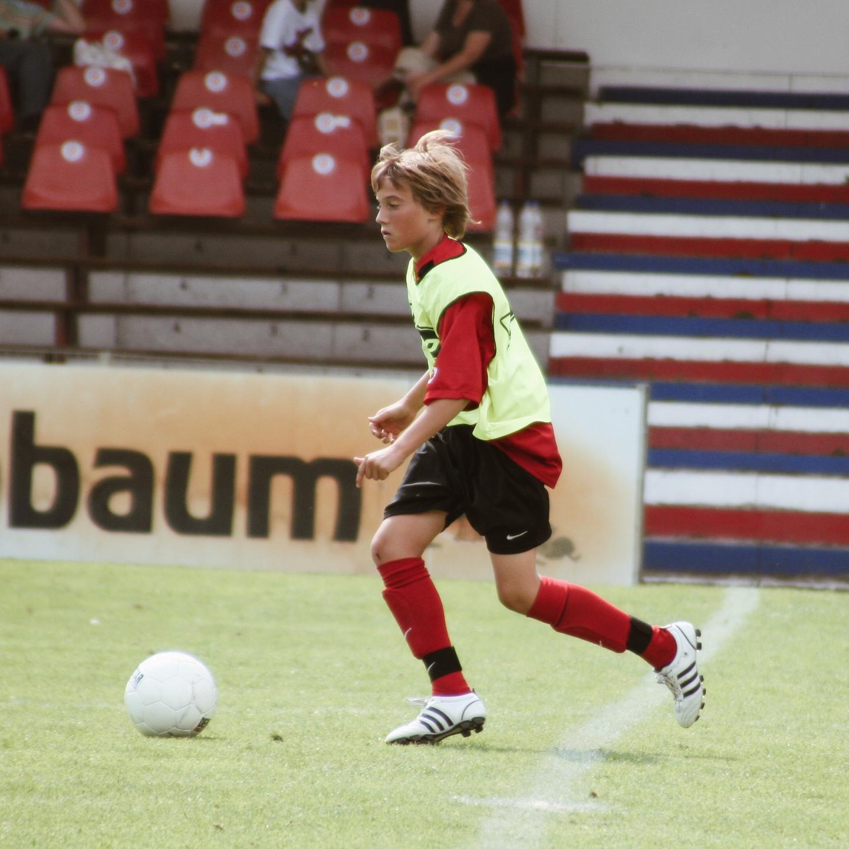 Julius Duchscherer als C-Jugend Spieler des SV Wehen Wiesbaden