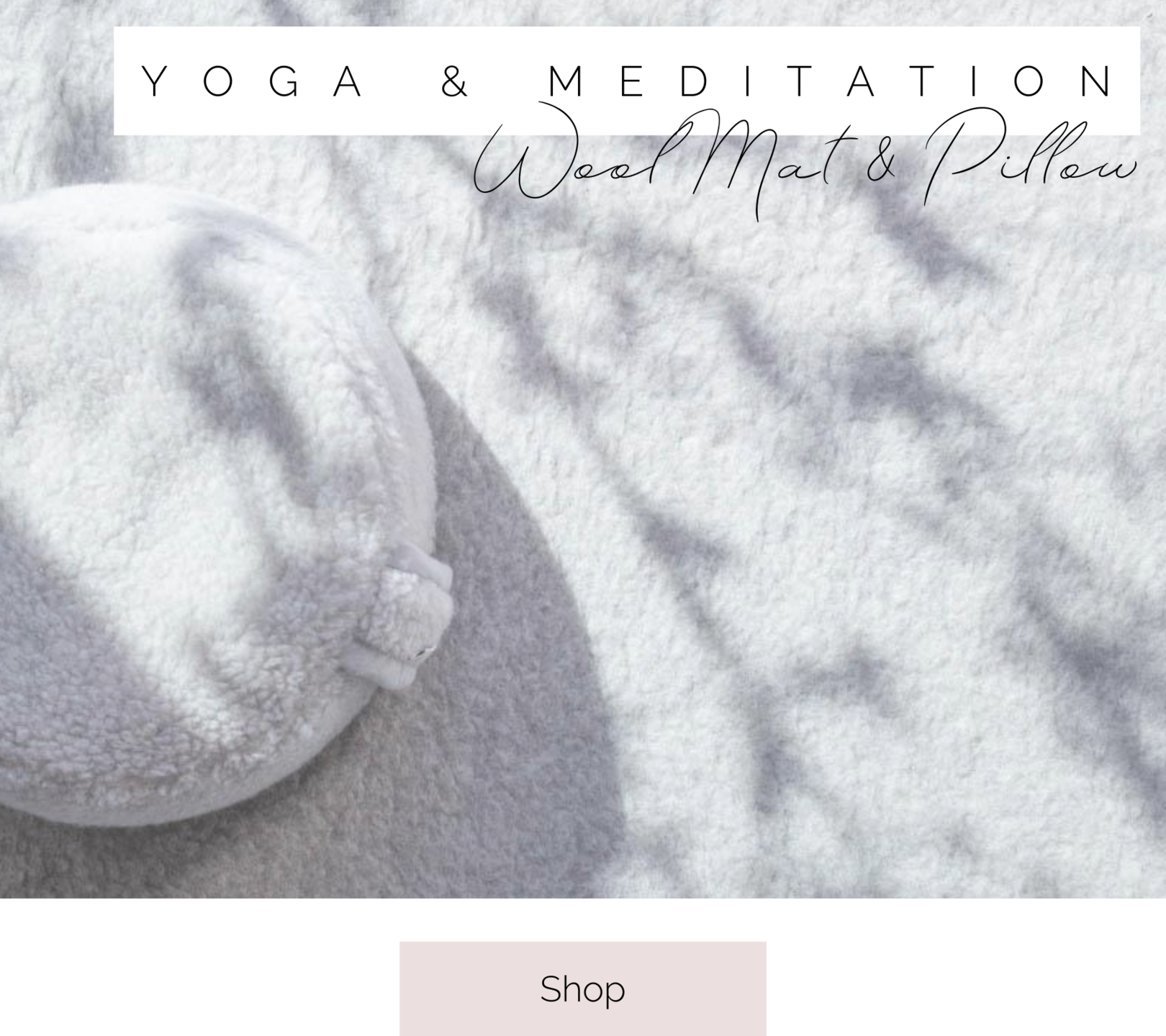 shop yoga mats and meditation pillows