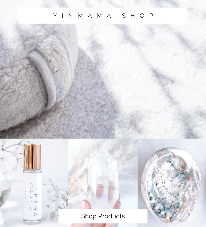 shop yoga mats and crystals