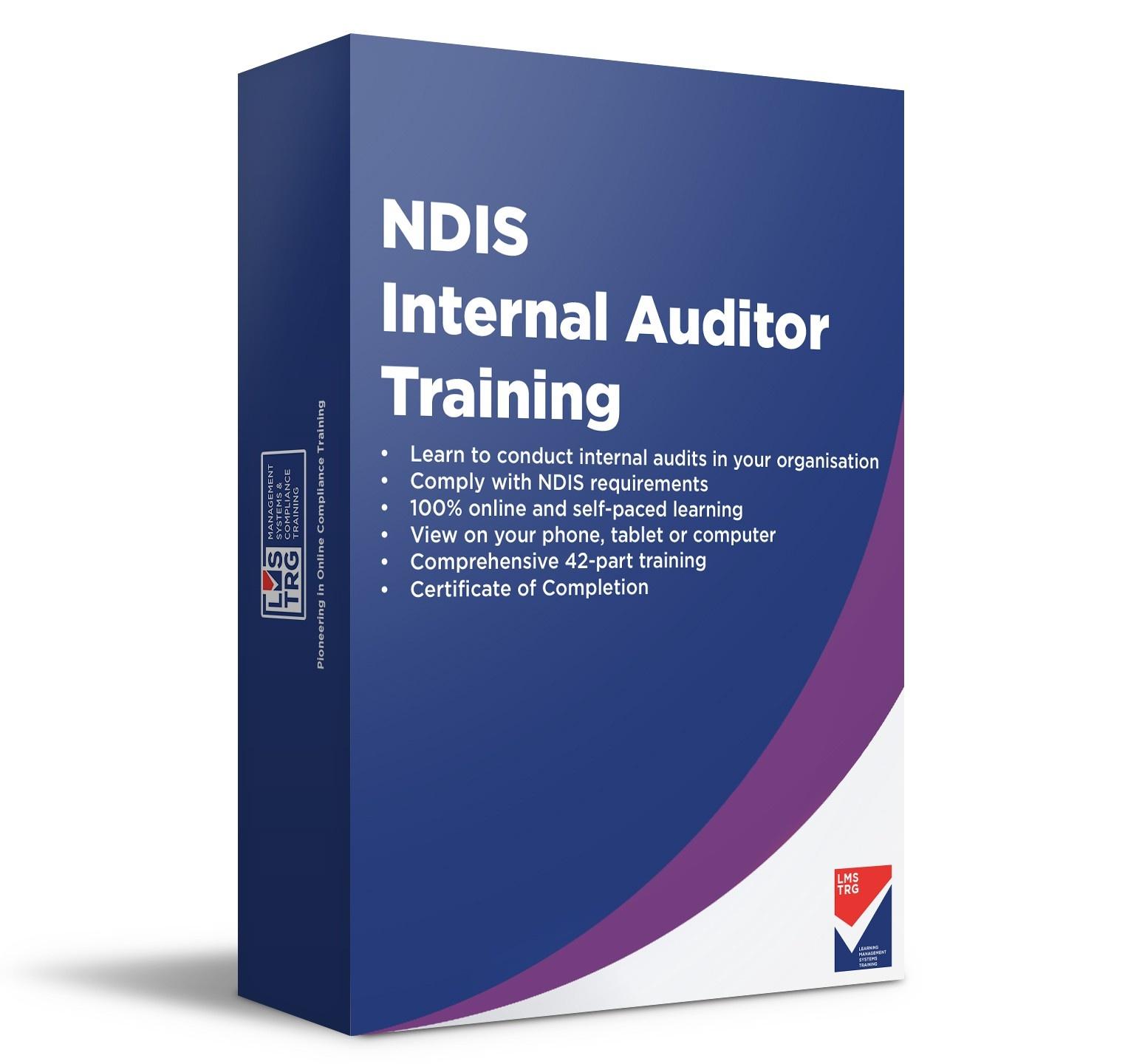 NDIS Online Internal Auditor Training