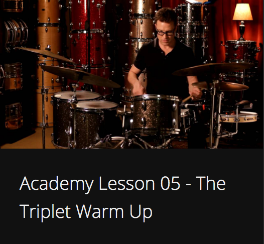 Academy Lesson 5 - The Triplet Warm Up