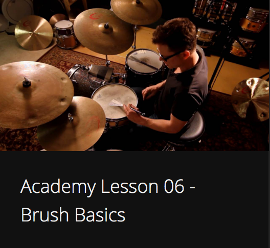 Academy Lesson 6 - Brush Basics