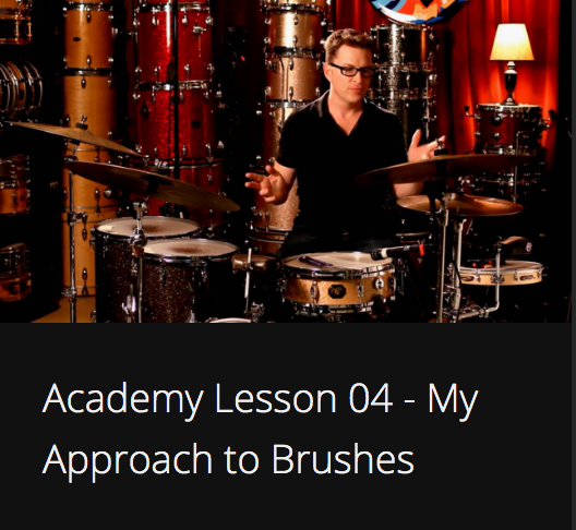 Academy Lesson 4 - My Approach to Brushes
