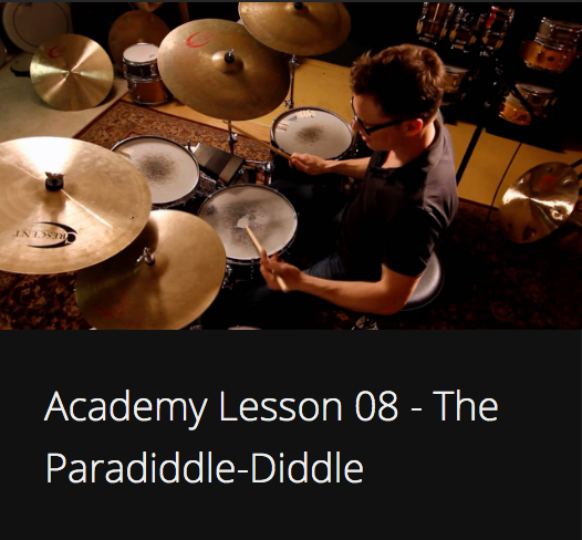 Academy Lesson 8 - The Paradiddle-Diddle