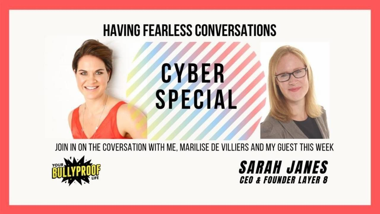 Having Fearless Conversations with Sarah Janes