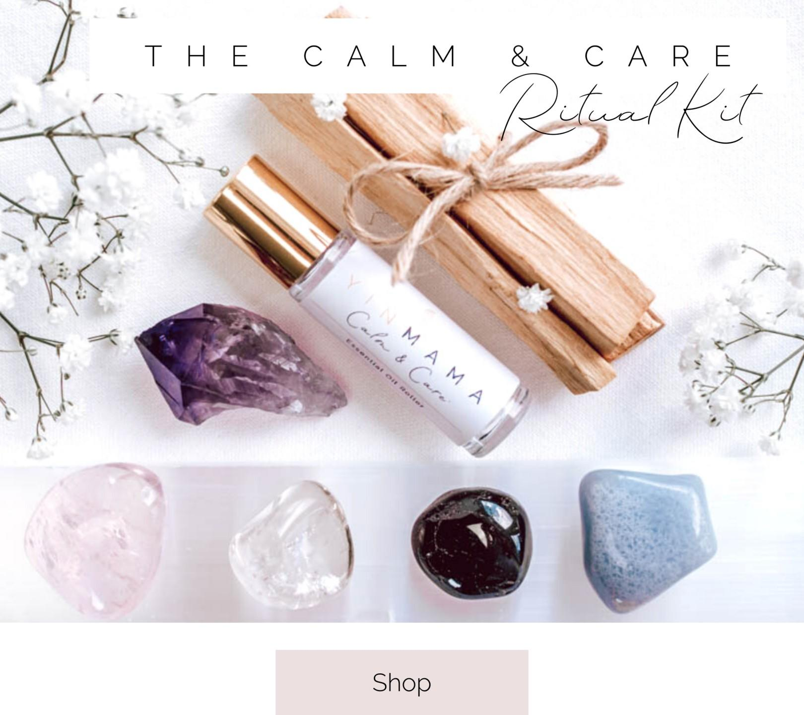 shop yoga mats and crystals