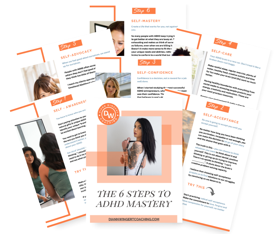 6 Steps to ADHD Mastery