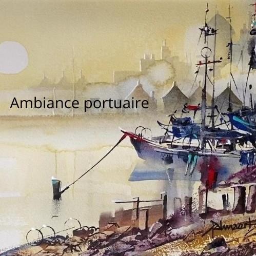 Ambiance portuaire avec Roland Palmaerts