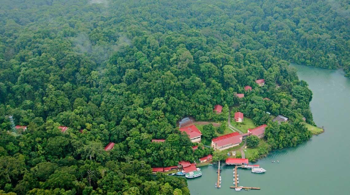 The Smithsonian Tropical Institute on Barro Colorado Island