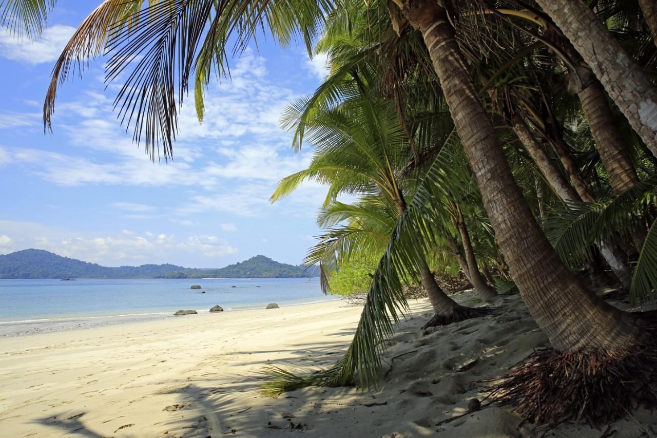Beach In Coiba National Park
