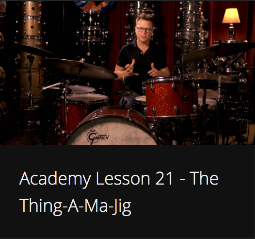Academy Lesson 21 - The Thing-A-Ma-Jig