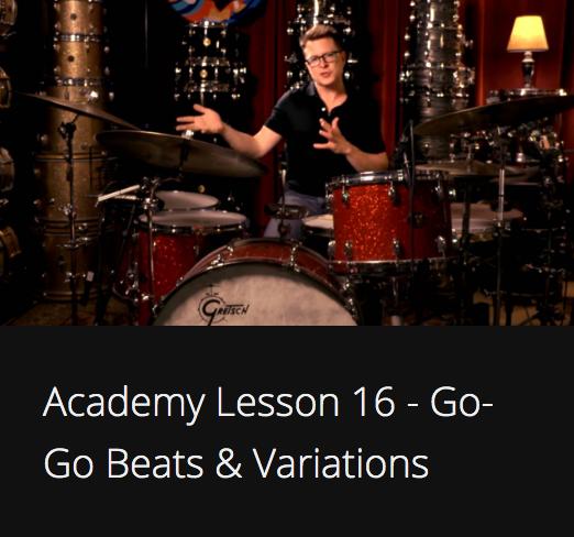 Academy Lesson 16 - Go-Go Beats & Variations