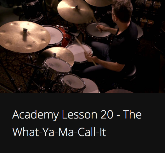Academy Lesson 20 - The What-Ya-Ma-Call-It