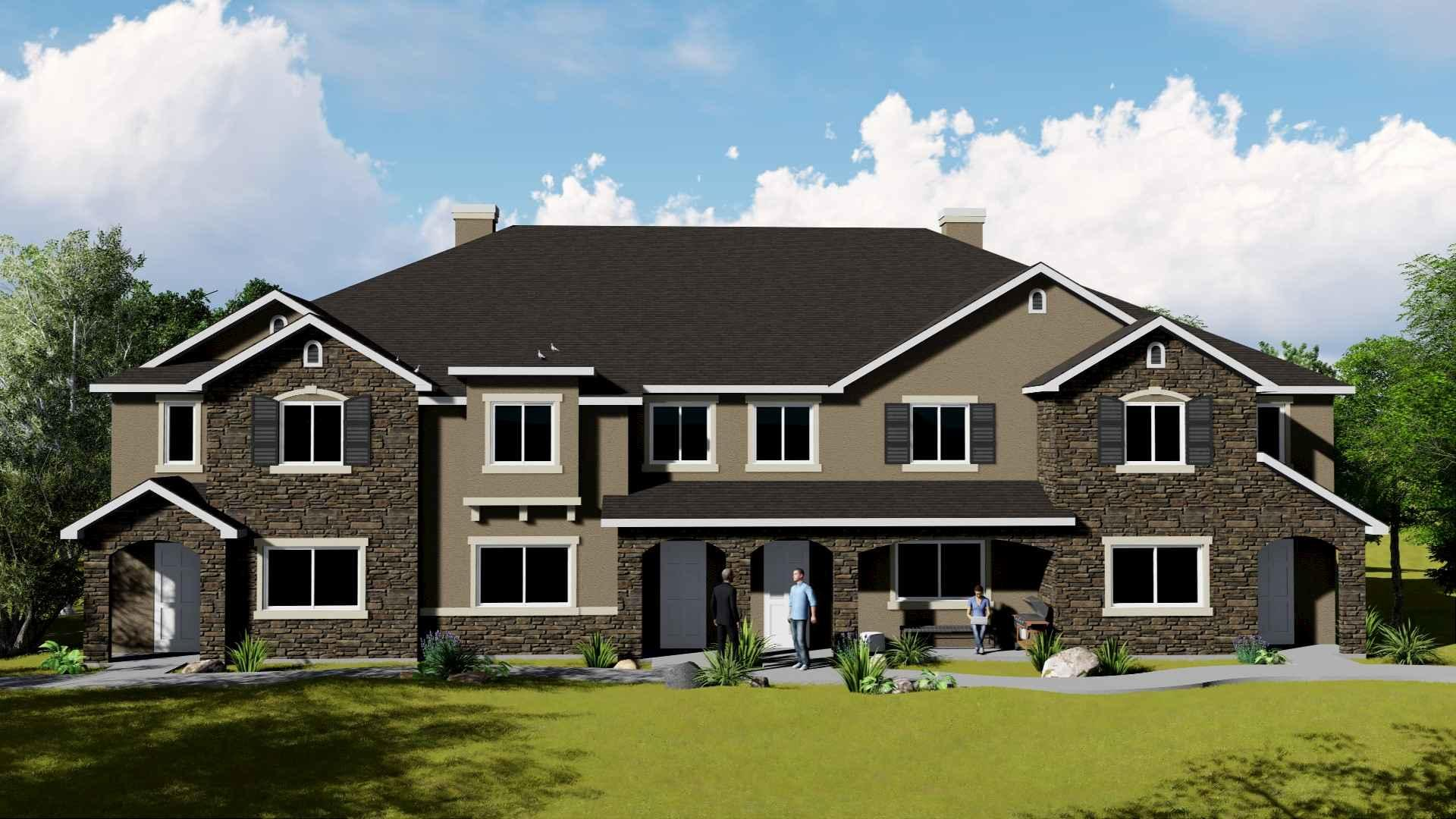 Project Rendering for FIG's Starwood Farms Multifamily Investment
