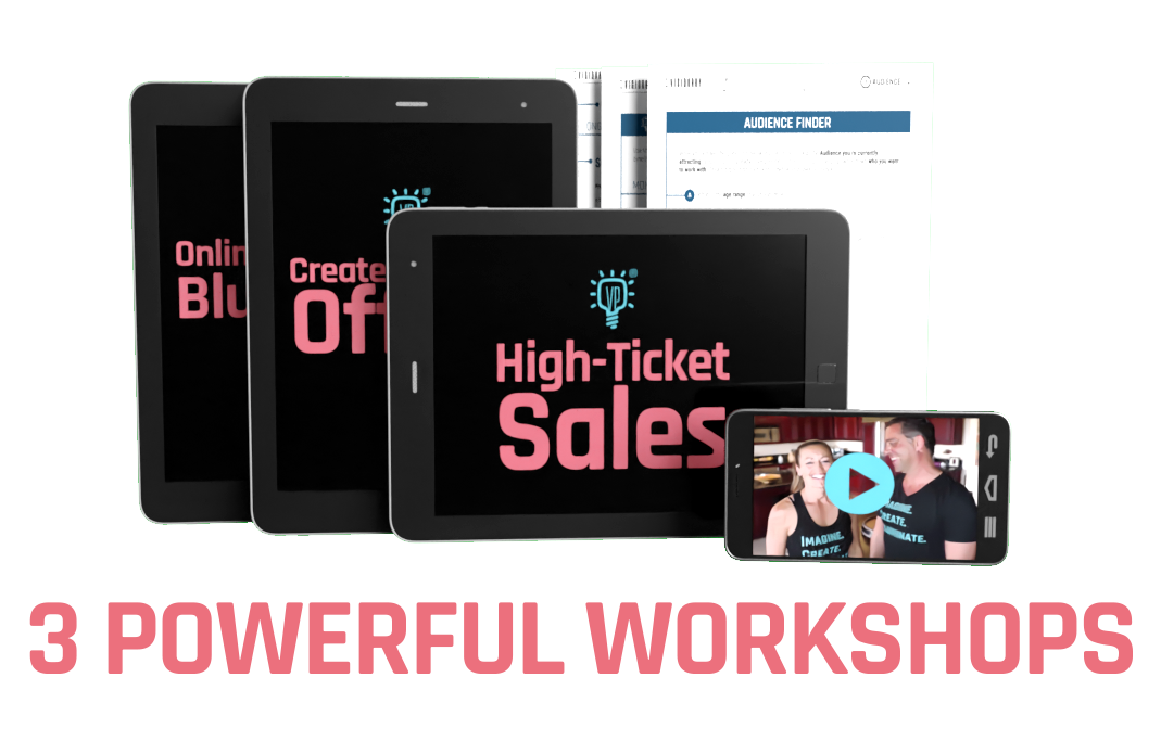 Get High paying clients workshop