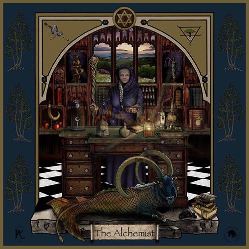 The Alchemist Warrioress Artwork