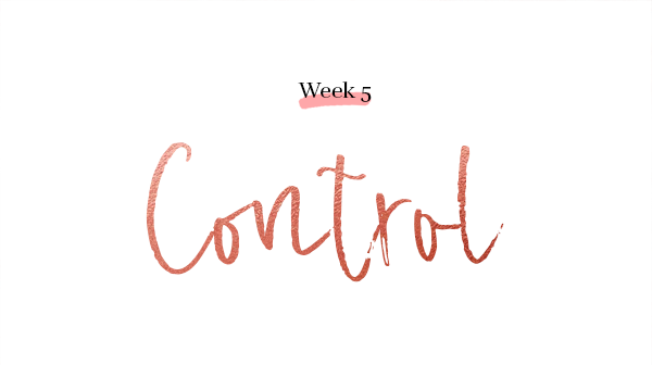 Week 5 Control