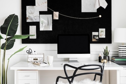 How to Stage a Home Office Webinar