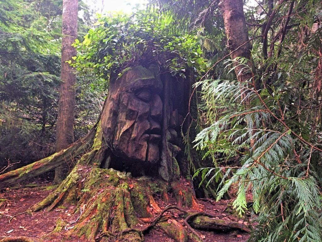 The God Head in Stanley Park