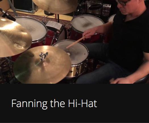 Fanning the Hi-Hat