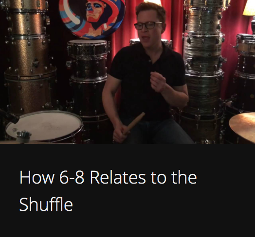How 6-8 Relates to the Shuffle