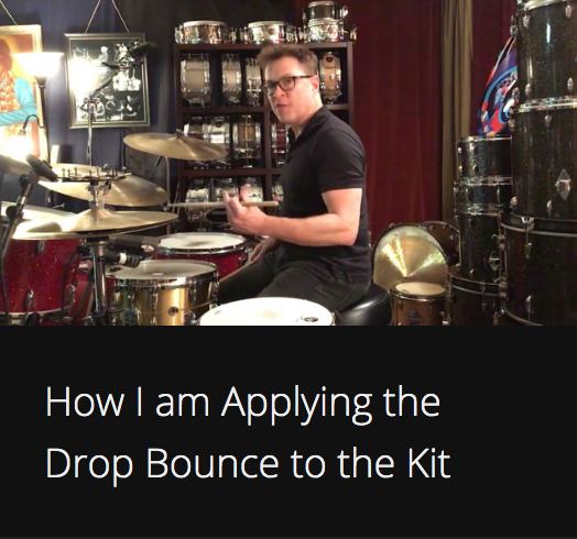 How I am Applying the Drop Bounce to the Kit