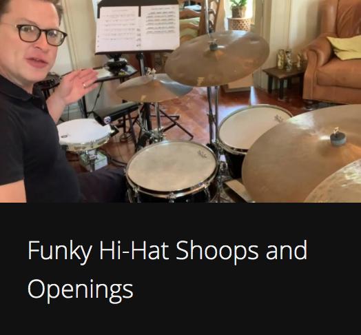 Funky Hi-Hat Shoops and Openings