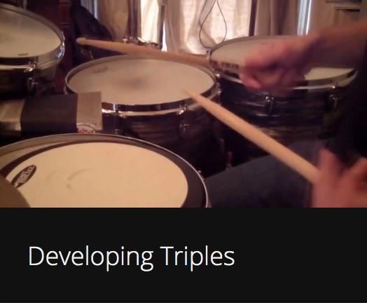 Developing Triples