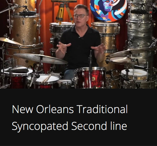 New Orleans Traditional Syncopated Second Line