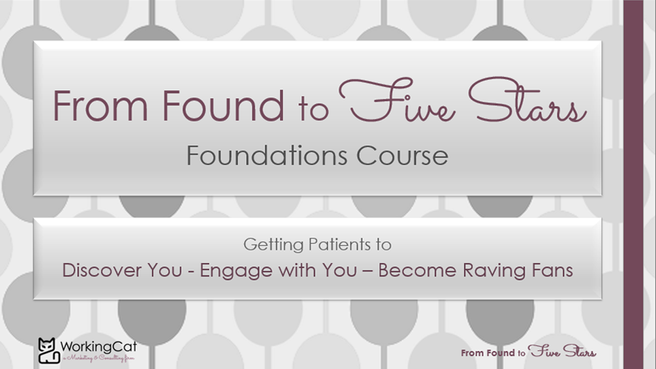 Laura J Nadler From Found to Five Stars online course