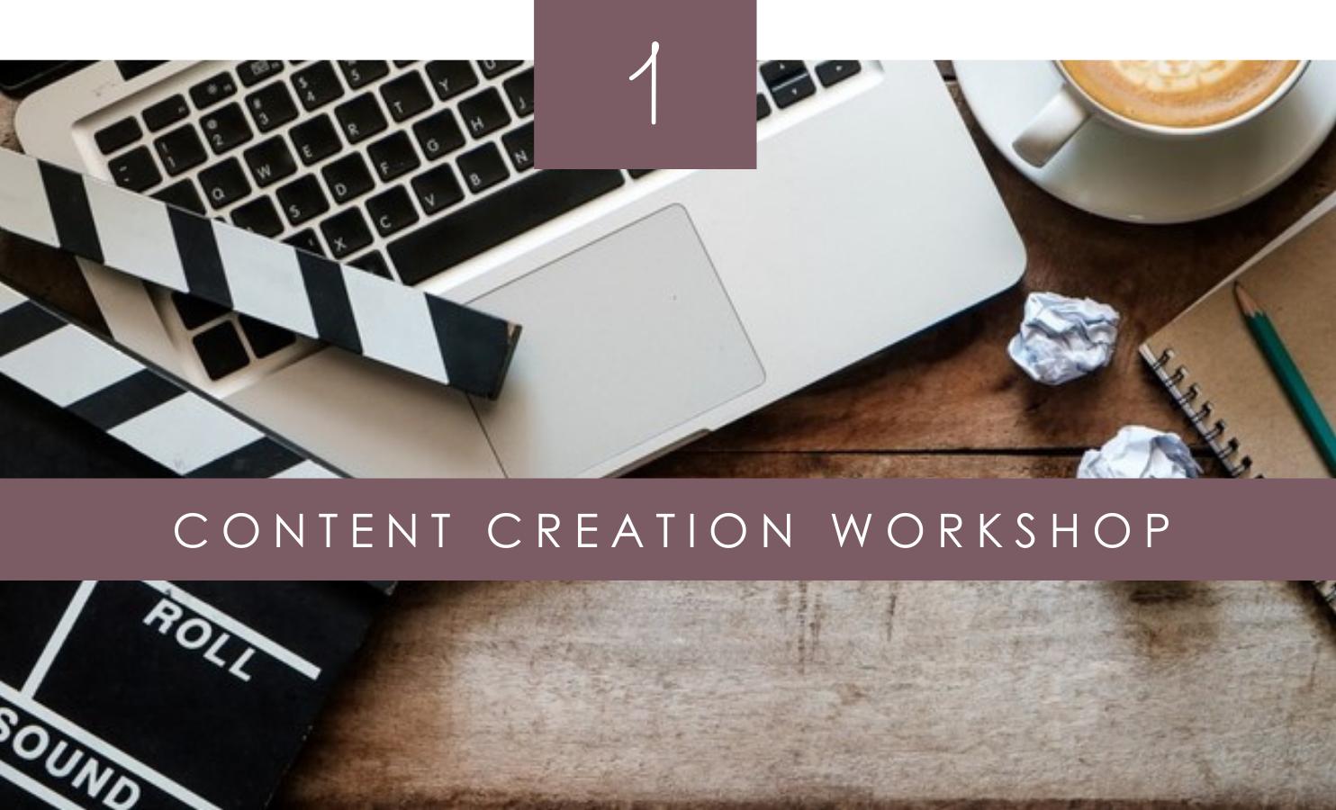 content creation online course dental marketing