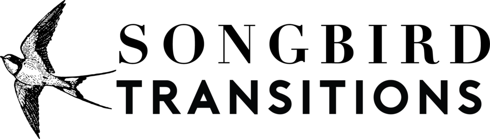 Songbird Transitions Logo
