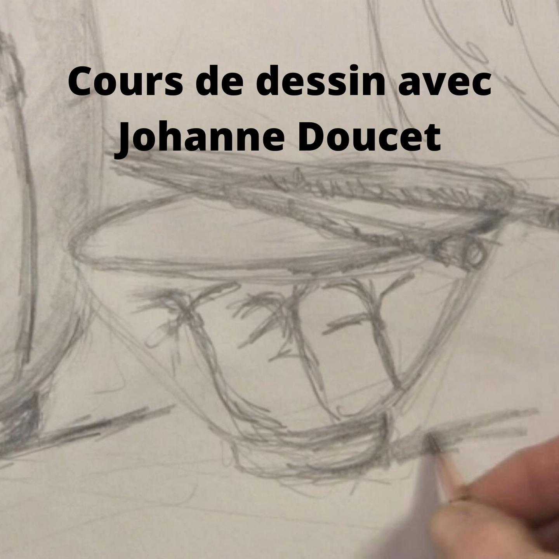 Cours de dessin en ligne avec Johanne Doucet