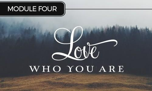 Authentic Living - Lover who you are
