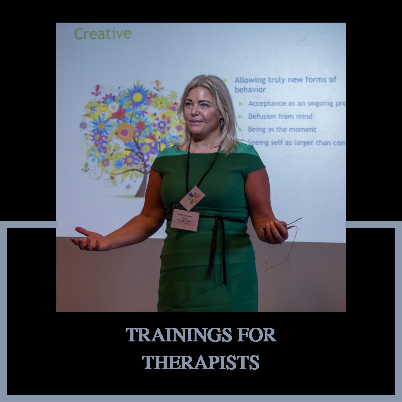 ACT training by Rikke Kjelgaard