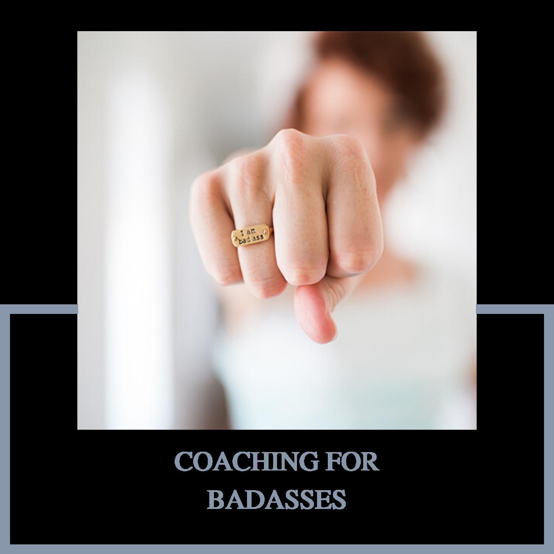 Coaching for badasses by Rikke Kjelgaard