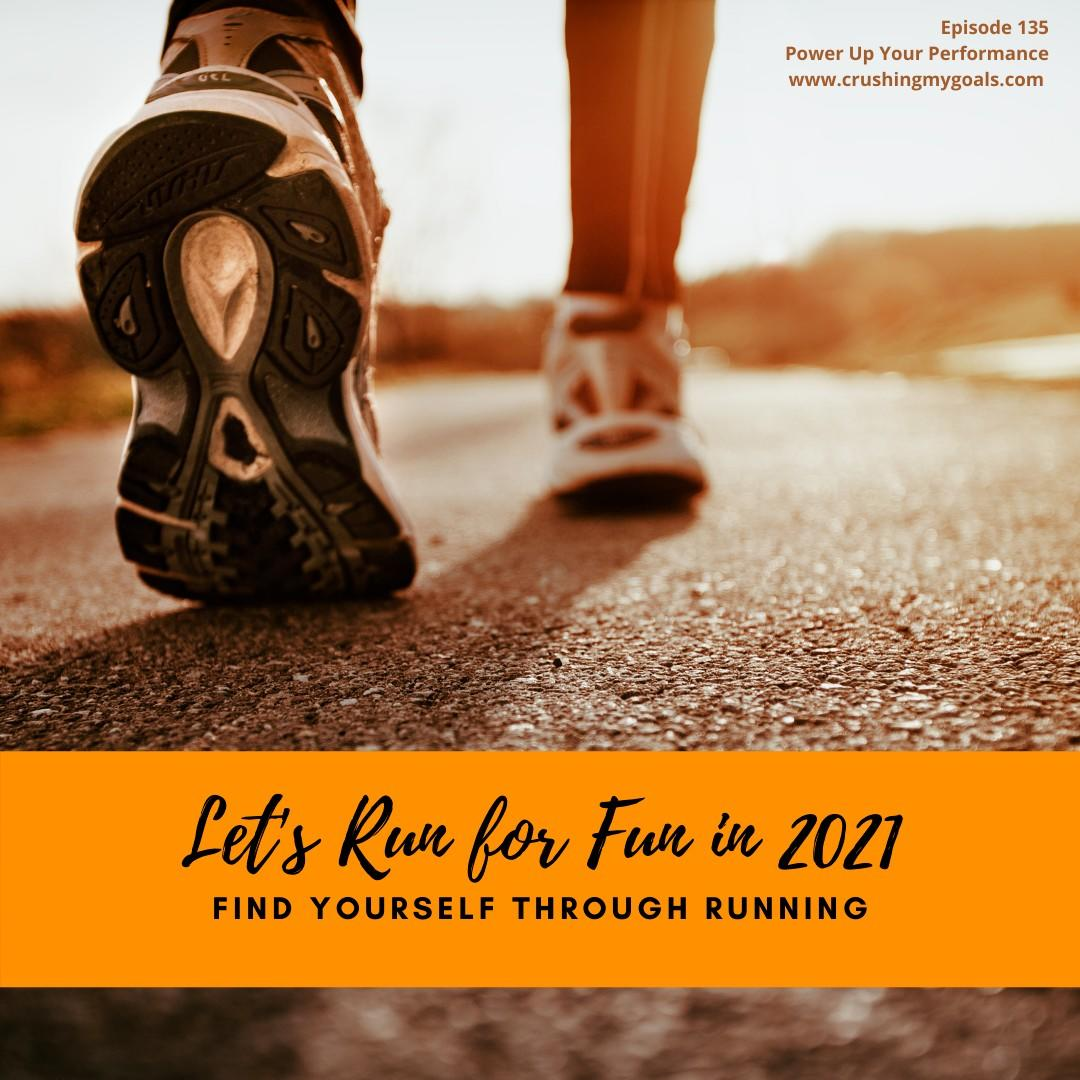 Run for fun in 2021 with Coach Kim Peek