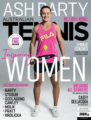 IMAGE OF ASH BARTY TENNIS FITNESS