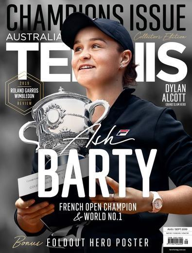 IMAGE OF ASH BARTY TENNIS MAGAZINE