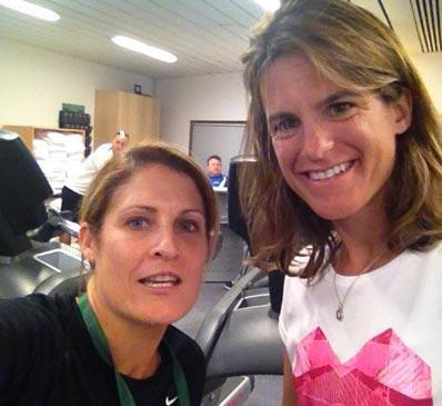 IMAGE OF EMILY MAURESMO TENNIS FITNESS