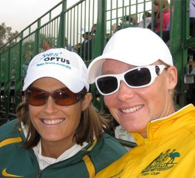 IMAGE OF SAM STOSUR TENNIS FITNESS