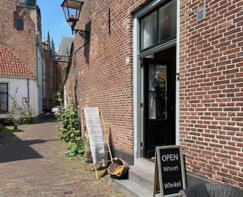 Entree, Feng Shui Atelier, Woon Winkel, Proostdijsteeg Zutphen