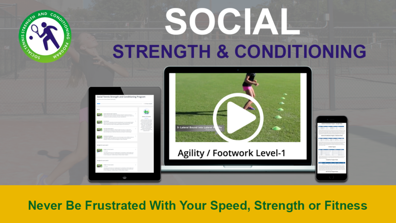 Social Tennis Strength and Conditioning