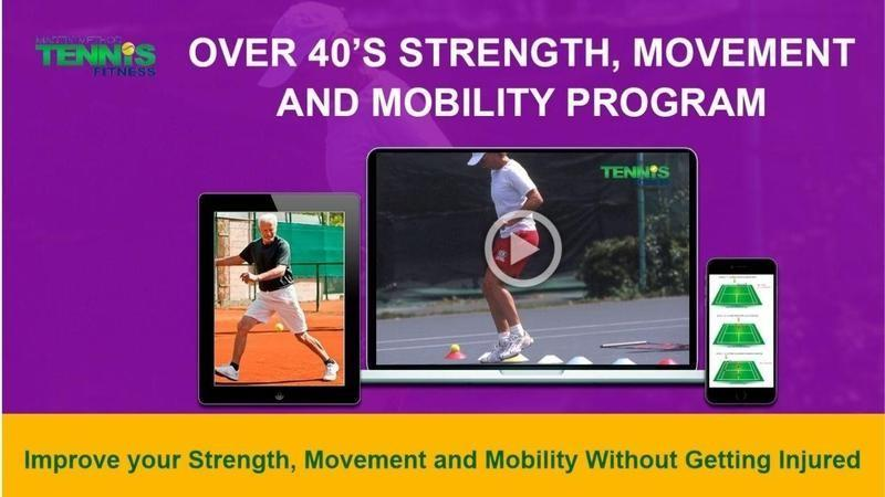 Over 40 Tennis Strength, Movement, Mobility