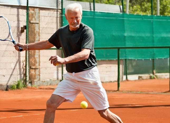 SENIOR TENNIS ENDURANCE